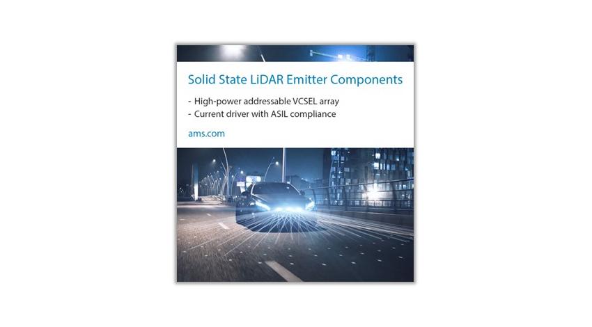 amsがIbeo・ZFと提携、自動車業界へソリッドステートLiDARシステムを提供