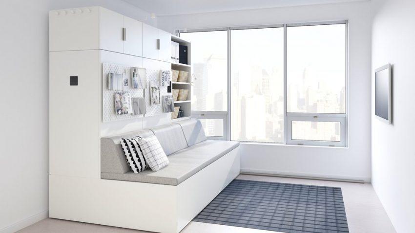 IKEAとOri Livingが、小さなスペースで生活するためのロボット家具「ROGNAN」を開発