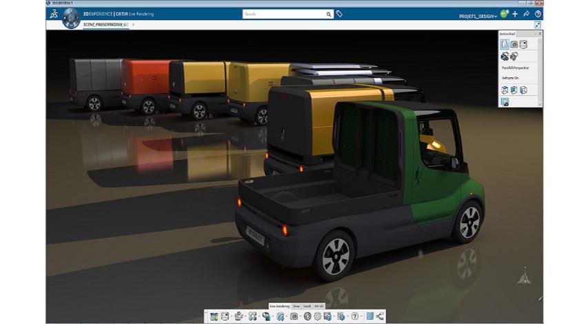 ダッソー・システムズ、ルノーの共創ラボのEVでのラストマイル配送実験に協力