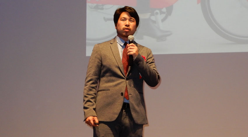 Uber Japan 営業部 シニアマネージャー 佐々木 裕馬氏