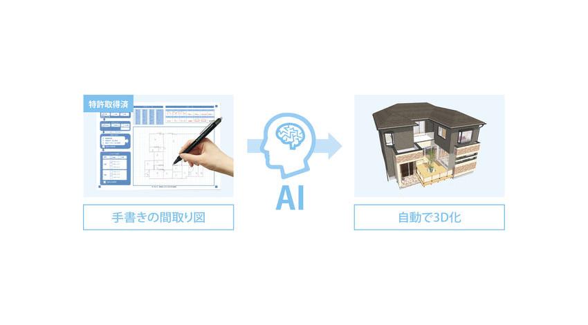 CST、手書き図面をAIで3Dデータに自動変換する営業支援ツール「ALTA AIスケッチ」の販売開始
