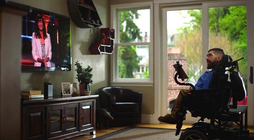 Comcastがテレビ用のアイコントロールを発表