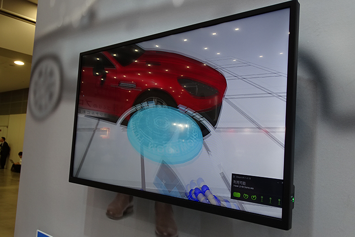 CMC、店舗の在庫レス化・無人化につながる「VRショールーム」を展示―店舗運営EXPOレポート
