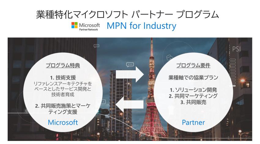 マイクロソフト、デジタルトランスフォーメーションの実現を支援するパートナープログラムを開始