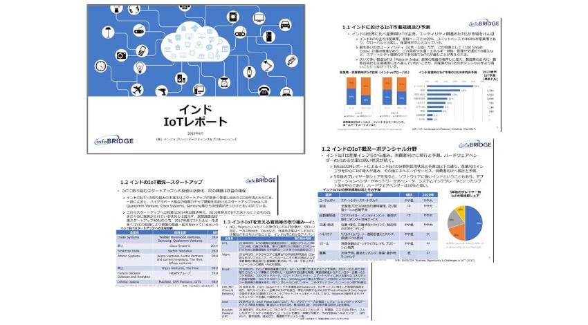 インフォブリッジ、「インドIoTレポート」を発売