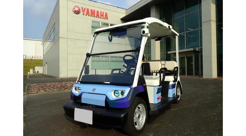 ヤマハ発動機、磐田市で低速自動運転車両の公道実証実験を開始