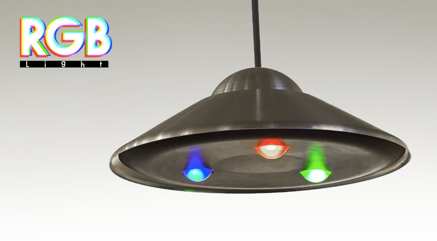 100BANCHとShiftall、カラフルな影をデザインする照明器具「RGB_Light」の先行予約受付開始