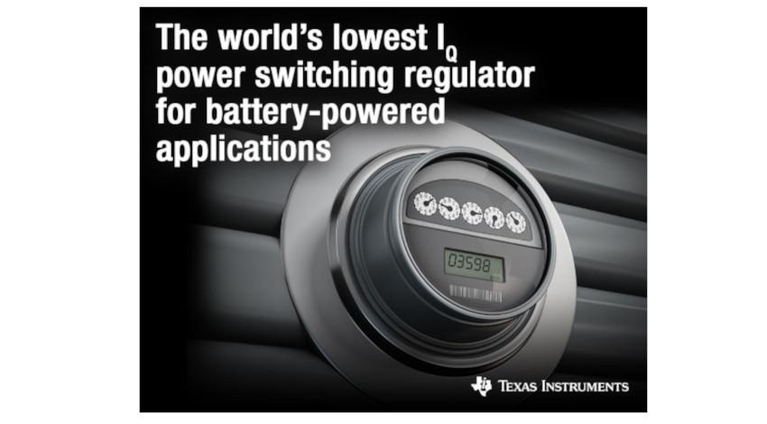 テキサス・インスツルメンツ、IoT設計でのバッテリ寿命の延長を可能にする新型電源スイッチング・レギュレータを発表
