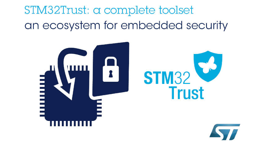 STマイクロエレクトロニクス、IoT機器のサイバー保護機能を実装する開発エコシステム「STM32Trust」を発表