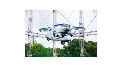 NECが空飛ぶクルマの管理基盤構築に着手、試作機の浮上実験を実施