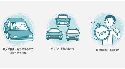 DeNA SOMPO Mobilityの個人間カーシェアサービス「Anyca」、レンタカー形態のカーシェアサービスを開始