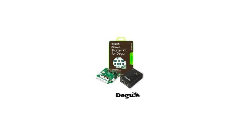 アットマークテクノ・コアスタッフ・Seeed、IoTセンサー技術「Degu」の新しいラインアップ「Degu-IoTエントリーパック」を発売
