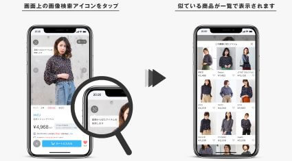 ZOZOTOWN、AIによる「類似アイテム検索機能」を導入