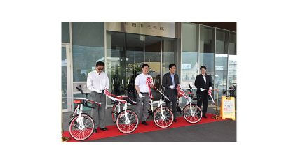 有田市・NECソリューションイノベータなど、シェアサイクルを活用した観光振興・地域活性化に向けて連携協定を締結