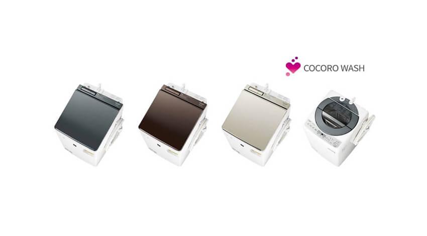 シャープ、AIoTクラウドサービス「COCORO WASH」対応のプラズマクラスター洗濯乾燥機など4機種を発売