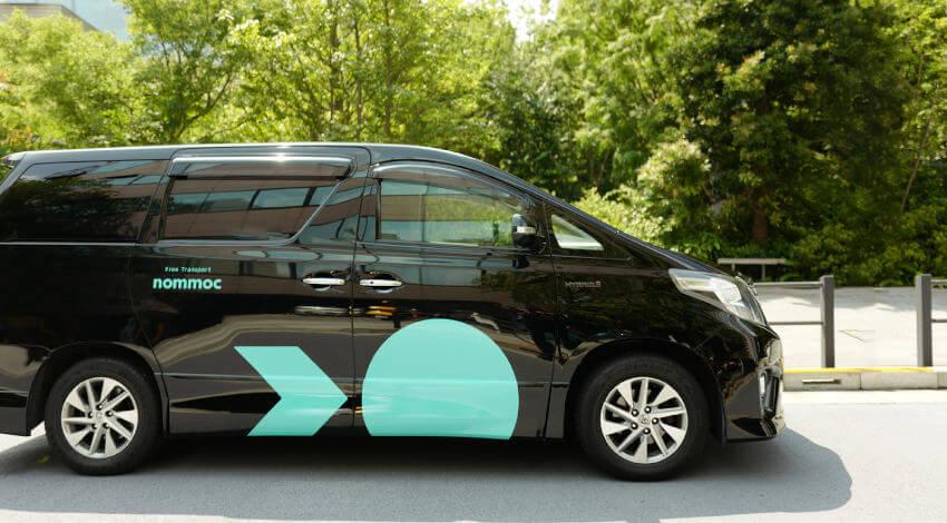 nommoc、無料で移動できる配車アプリサービス開始