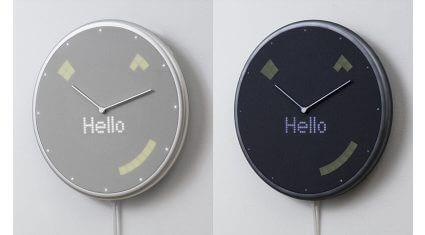 Gloture、スケジュールや天気などをLEDサインと音で通知するIoT時計「Glance Clock」発売