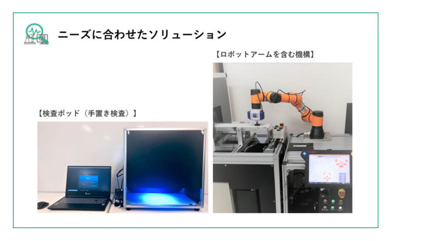 テクムズが品質検査AIの機能とサービスを拡張、不良サンプル20枚よりAIモデルを作成