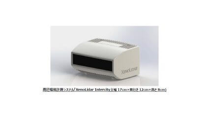 東陽テクニカ、XenomatiXの周辺環境計測システム「XenoLidar Intercity」を販売開始