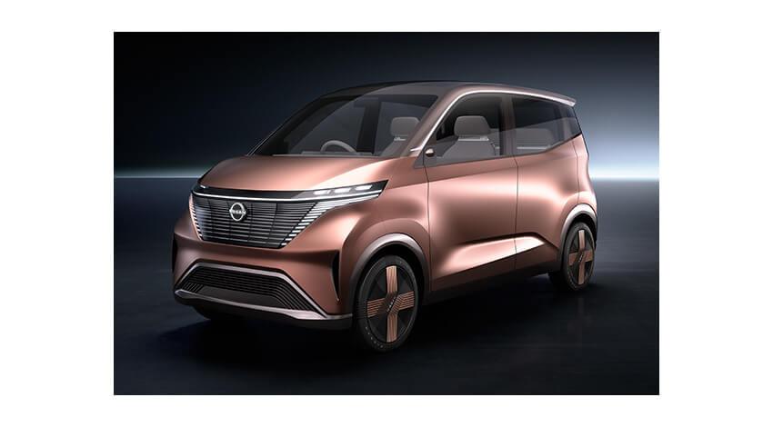 日産自動車、運転支援技術・コネクティビティ機能を搭載したEVコンセプトカー「ニッサン IMk」を公開