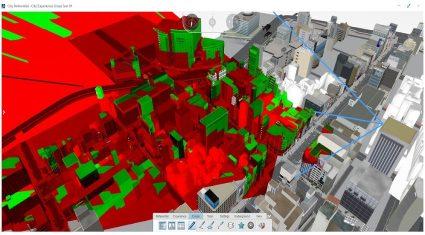 ダッソー・システムズのバーチャル都市計画ソリューション3DEXPERIENCE、大成建設が導入
