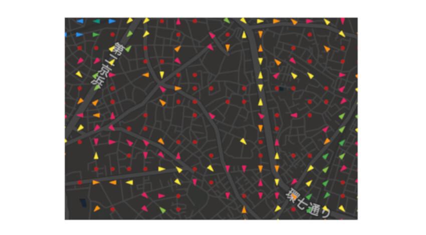 Agoop、人の流れを地図やグラフなどで可視化するサービス「Kompreno」の無料公開版を提供開始