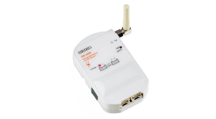 セイコーインスツル、エネルギーハーベスト型無線電流センサノード「SW‐42D0‐1000」を開発
