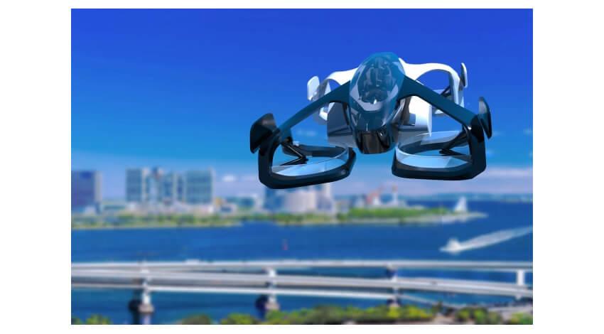 DNPがCARTIVATOR・SkyDriveと協働、空飛ぶクルマを活用したMaaS共同事業開発を開始