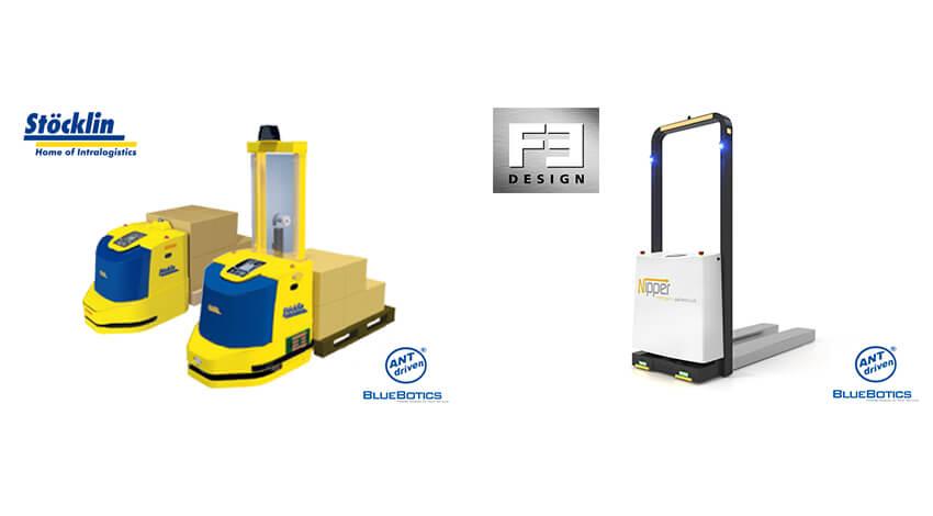 アルテック、StocklinとF3-Designの「自律走行フォーク型搬送ロボット」を販売開始
