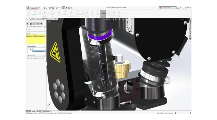 ダッソー・システムズが3D設計ソフトウェア「SOLIDWORKS」を機能強化、新たなディテイリングモードやフレキシブル構成部品を追加