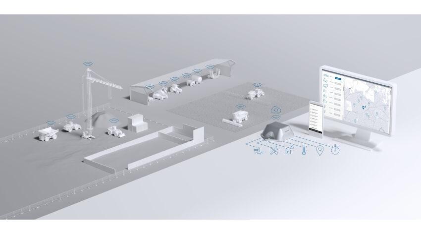 ボッシュ、IoTソリューション「TRACI」を活用した建設・土木工事現場での実証実験を清水建設と実施