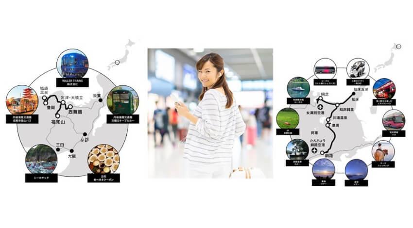 WILLER、交通とアクティビティの検索・予約・一括決済が可能な観光MaaSアプリをリリース