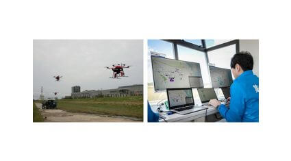 NEDO・NEC・NTTデータ・日立など、同一空域・複数事業者のドローン運航管理システムとの相互接続試験を実施