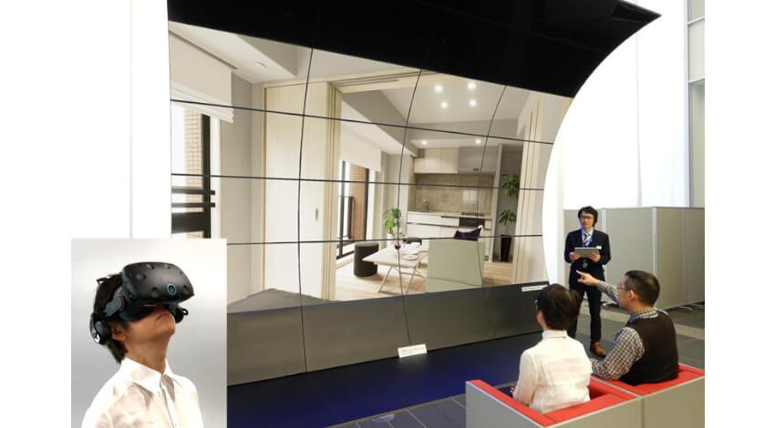 DNP、VR空間で住宅の間取りを体験できる「VRモデルルーム」を開発