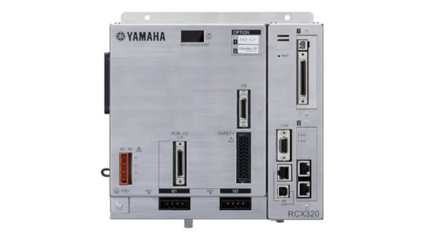 ヤマハ発動機、予知保全情報のリアルタイム出力機能を搭載した2軸ロボットコントローラ「RCX320」を発売