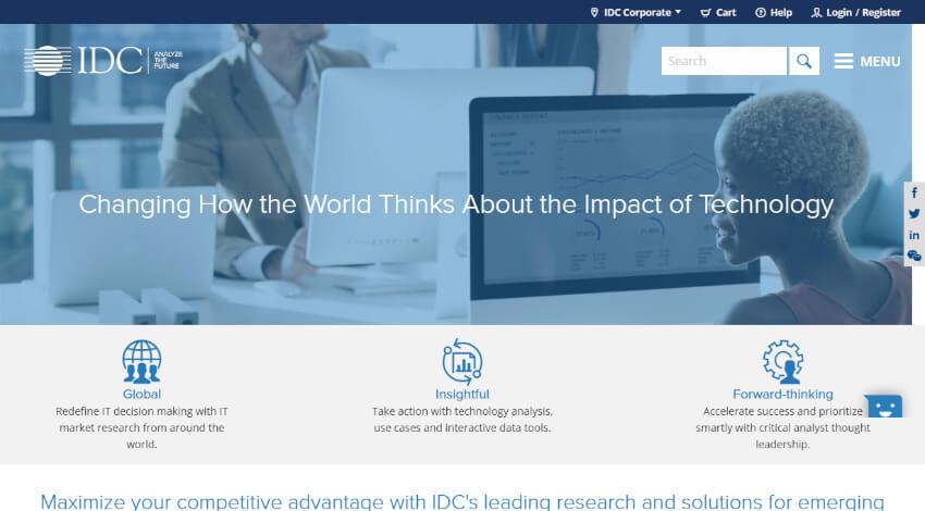 IDC、デジタルエコノミーに関する取り組みを開始