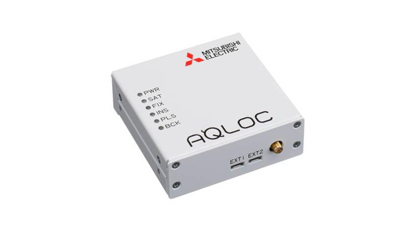 三菱電機、準天頂衛星システムCLAS対応のセンチメータ級高精度測位端末「AQLOC-Light」発売