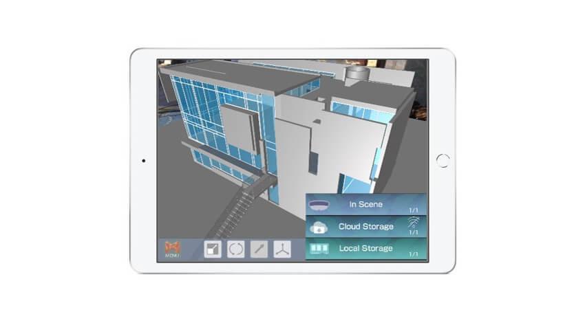 SB C&Sとホロラボ、3D CADやBIMをAR/MR向けに自動変換する「mixpace」のiPad対応版を提供開始