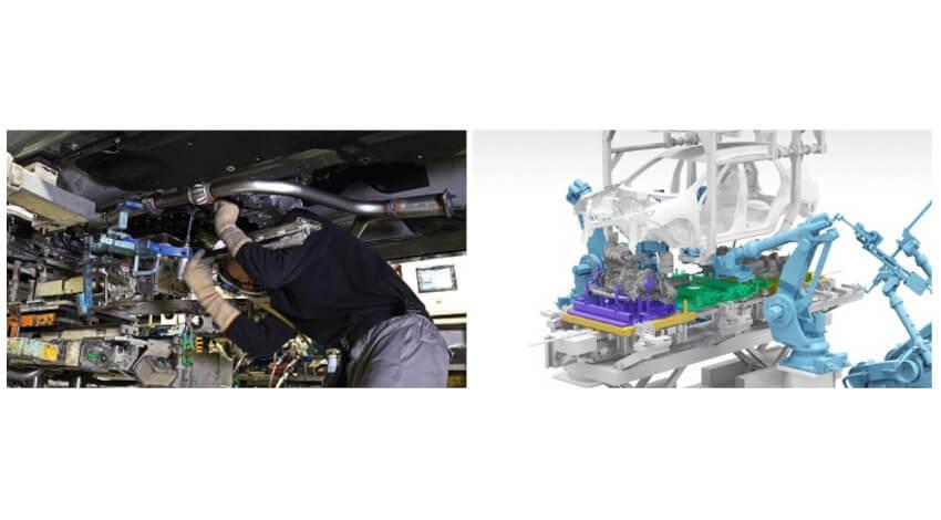 日産自動車、次世代のクルマづくりコンセプト「ニッサン インテリジェント ファクトリー」を発表