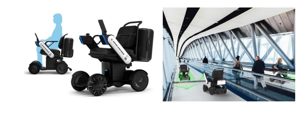 羽田空港における次世代型電動車いすの自動運転の試験走行を実施