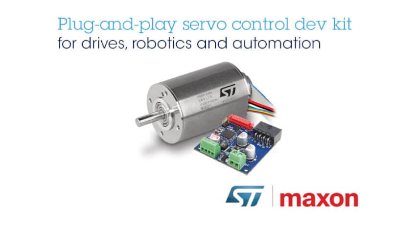 STマイクロエレクトロニクスとmaxon、ロボットおよび自動化システム向けモータ制御の開発に向けて協業
