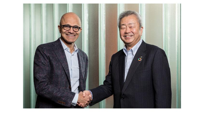 NTTとマイクロソフト、新たなデジタルソリューションの実現に向けた戦略的提携に合意