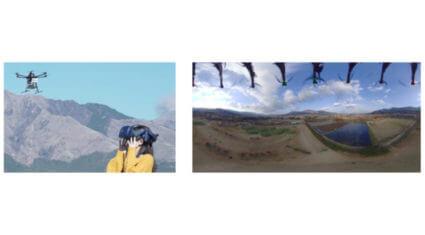 KDDI・東海大学など、5Gを活用して南阿蘇地域をドローン視点で飛行体験する観光サービスの実証試験を実施