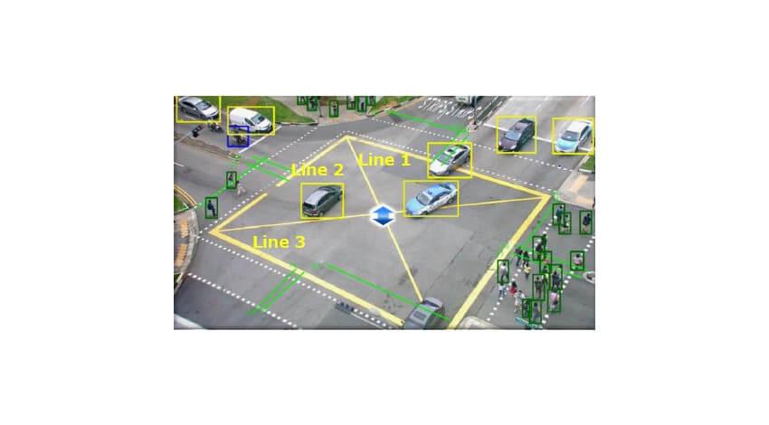 沖縄電力とNEC、電柱に設置した見守りカメラとAIを用いて交通事故の危険度を推定する実証実験を開始