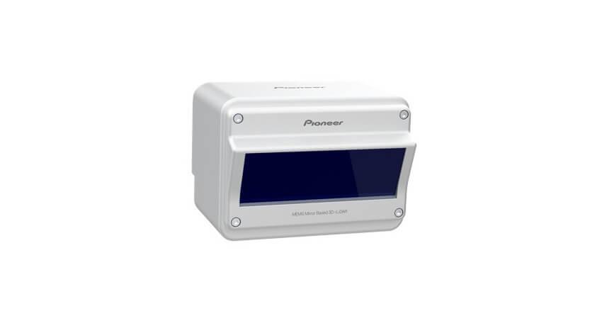 パイオニア、計測可能距離を向上し小型化した「3D-LiDARセンサー」の量産モデルを開発
