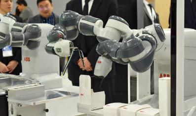ABBが描く、デジタルツイン技術を使った「未来の工場」 ―2019国際ロボット展レポート4