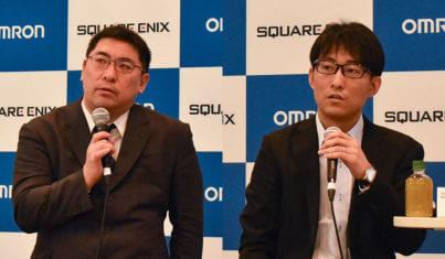 オムロンとスクウェア・エニックスが共同研究を開始、センサー技術とゲームAIで人の内面にせまる