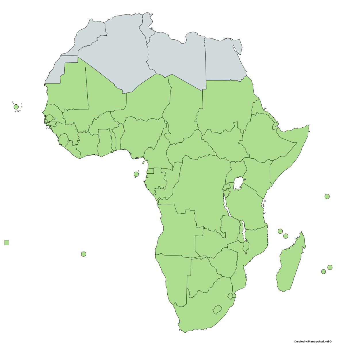 サブサハラ・アフリカ