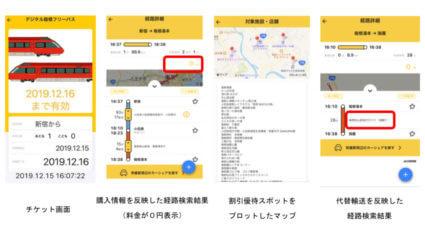 小田急のMaaSアプリ「EMot」、観光型MaaS実証実験を開始