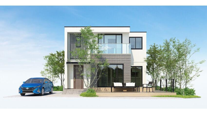 日本ユニシスのVR住宅展示場「MY HOME MARKET」、トヨタホーム愛知のオリジナルモデルを販売開始
